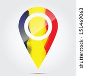 glossy colorful romania map... | Shutterstock .eps vector #151469063