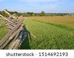 Wooden fence First Battle of Bull Run, First Battle of Manassas the American Civil War