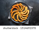 Roasted Sliced Pumpkin With...