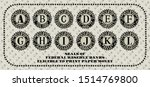 seals of the federal reserve... | Shutterstock .eps vector #1514769800