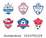 set of soccer or football club... | Shutterstock .eps vector #1514792129
