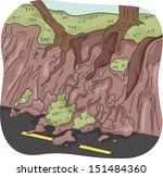 illustration of trees left... | Shutterstock .eps vector #151484360