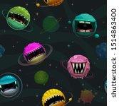 cartoon background. seamless... | Shutterstock .eps vector #1514863400