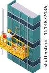 vector isometric skyscraper... | Shutterstock .eps vector #1514872436