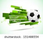 soccer background | Shutterstock .eps vector #151488554