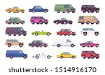 cars big bundle set. coupes ... | Shutterstock .eps vector #1514916170