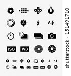 Camera Setting Tools Icon