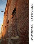 Brick Warehouse At An Angle...
