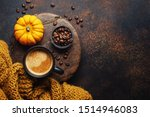 Autumn Arrangement With Coffee...