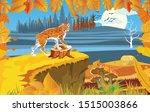landscapes of wildlife in...   Shutterstock .eps vector #1515003866