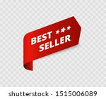 best seller red badge. best... | Shutterstock .eps vector #1515006089