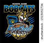 bobcats football team design...   Shutterstock .eps vector #1515052736