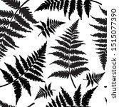 seamless pattern in monochrome... | Shutterstock .eps vector #1515077390