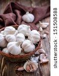 garlic | Shutterstock . vector #151508588