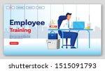 employee training landing page...