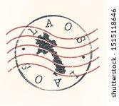 laos stamp postal. map...   Shutterstock .eps vector #1515118646