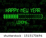 Happy New Year With Loading...