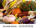 Colorful Autumn Display Of...