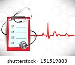 medical background with...   Shutterstock .eps vector #151519883