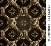 seamless pattern. abstract hand ...   Shutterstock .eps vector #151523594