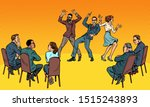 dance competition. dancing... | Shutterstock .eps vector #1515243893