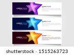geometric abstract vector... | Shutterstock .eps vector #1515263723