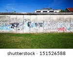 Berlin Wall Memorial With...