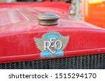 Vintage Badge  Reo Speed Wagon...