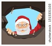 illustration of santa claus... | Shutterstock .eps vector #1515331103