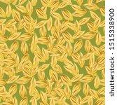 wheat  seamless pattern . malt ... | Shutterstock .eps vector #1515338900