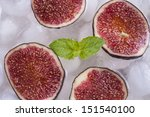 composition of fresh red fig...   Shutterstock . vector #151540100