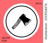 black old wooden axe icon... | Shutterstock .eps vector #1515518276