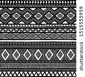 seamless ethnic pattern.... | Shutterstock .eps vector #1515555959
