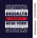 united states  typography... | Shutterstock .eps vector #1515557096