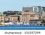 stockholm   aug  24  start area ... | Shutterstock . vector #151557299