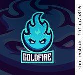 fire ice flame blaze hot mascot ... | Shutterstock .eps vector #1515575816