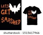 halloween t shirt template for...   Shutterstock .eps vector #1515617966