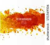 background with big orange... | Shutterstock .eps vector #151569506