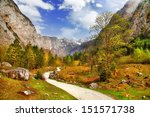 Autumn In Alps  Bavaria