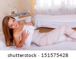 cosmetology. fat burning body... | Shutterstock . vector #151575428