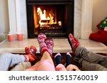 legs of a caucasian family...   Shutterstock . vector #1515760019