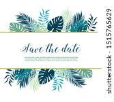save the date for your... | Shutterstock .eps vector #1515765629