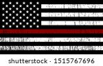 flag of usa with red line  ...   Shutterstock .eps vector #1515767696