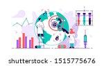 epidemiology. health danger... | Shutterstock .eps vector #1515775676