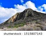 Peak Of A Beautiful Rocky...