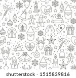 merry christmas and happy new... | Shutterstock .eps vector #1515839816