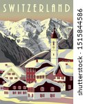 Switzerland Travel Poster....
