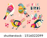 various birds with different...   Shutterstock .eps vector #1516022099