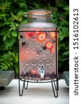 Vintage Glass Water Container...