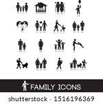 Vector Illustration. Family...